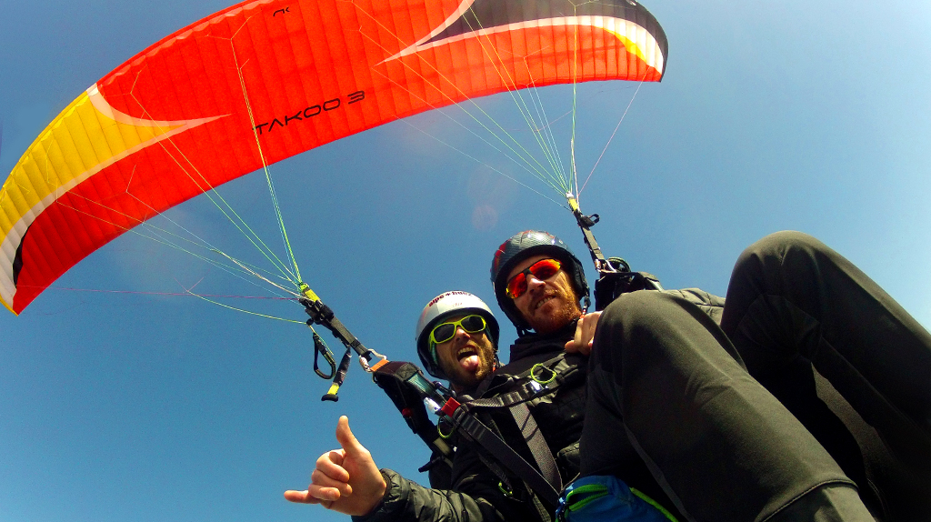 photo parapente biplace client n°6