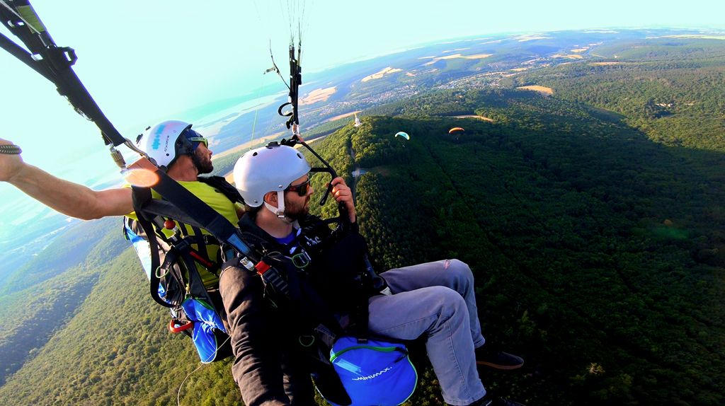 photo parapente biplace client n°7